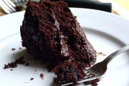 torta cacao e birra