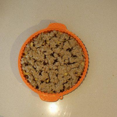 crumble cottura