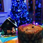 Panettone al cioccolato senza lattosio con lievito madre