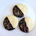 Biscotti glassati al cioccolato