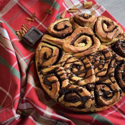 ricetta chocolate cinnamon rolls