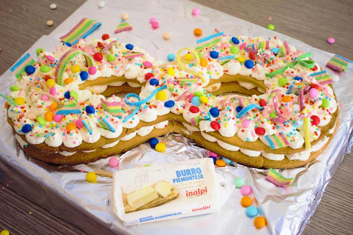 Cream tart di Carnevale