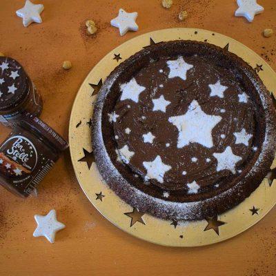 ricetta crostata morbida con crema pan di stelle