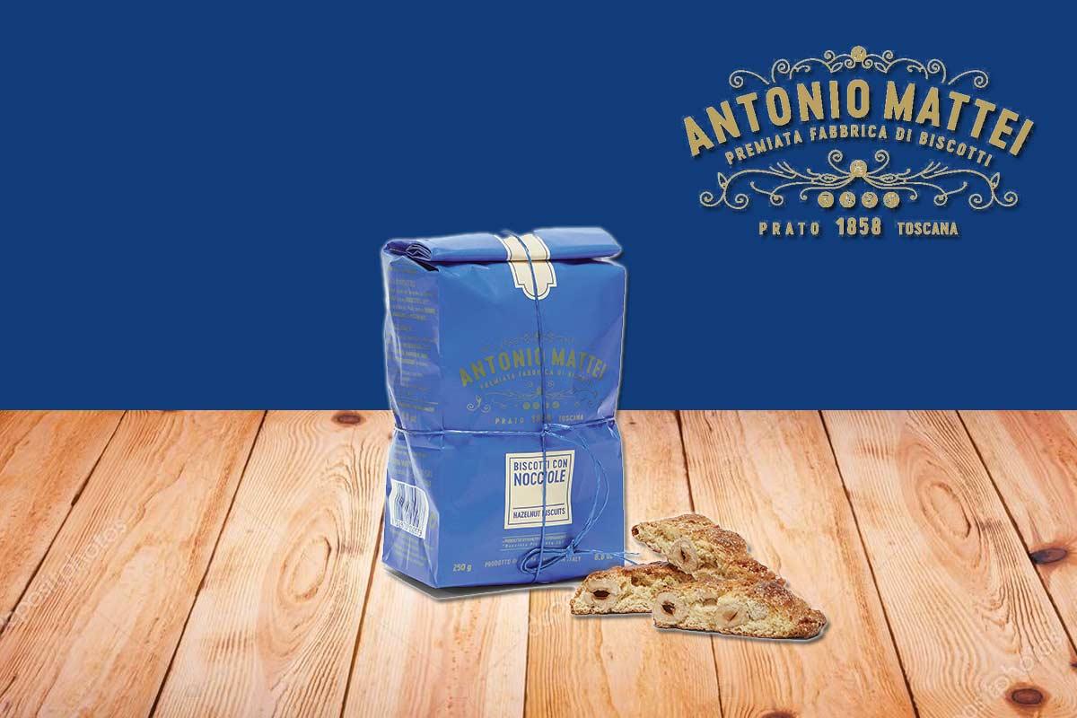 nuovo gusto biscotto antonio mattei con nocciola di piemonte igp